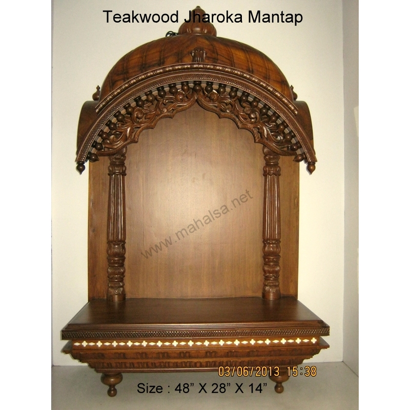 Buy Wooden Temple Online | Pooja Mandir Wooden | Home Wooden Mandir |
